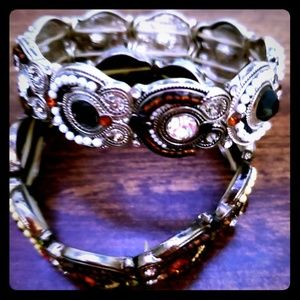 Two Stretch Bracelets to Dress-Up or Dress-Down